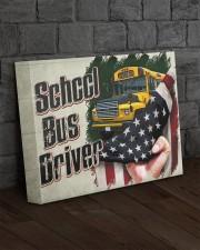 SCHOOL BUS DRIVER  - Premium 14x11 Gallery Wrapped Canvas Prints aos-canvas-pgw-14x11-lifestyle-front-11