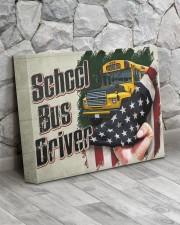 SCHOOL BUS DRIVER  - Premium 14x11 Gallery Wrapped Canvas Prints aos-canvas-pgw-14x11-lifestyle-front-13