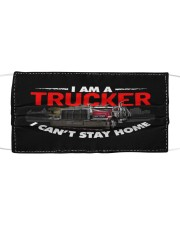 TRUCKER Cloth face mask front