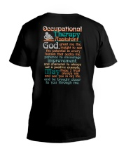 AN OCCUPATIONAL THERAPY ASSISTANT'S PRAYER V-Neck T-Shirt tile