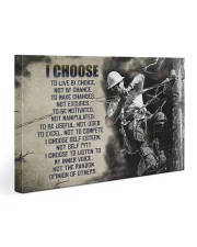 LINEMAN - Premium 30x20 Gallery Wrapped Canvas Prints front