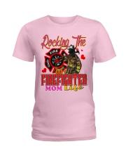 Firefighter's Mom Ladies T-Shirt tile