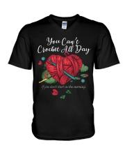 Crocheting V-Neck T-Shirt tile