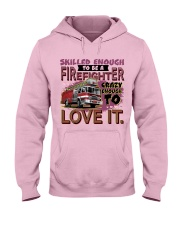 Lady Firefighter Hooded Sweatshirt front