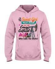 Oilfield Man's Wife Hooded Sweatshirt front
