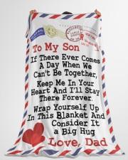"Gift For Son  Premium Large Fleece Blanket - 60"" x 80"" aos-coral-fleece-blanket-60x80-lifestyle-front-10"