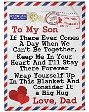 "Gift For Son  Premium Large Fleece Blanket - 60"" x 80"" front"