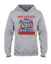 Trucker Grandpa  - Black Friday Sale Hooded Sweatshirt front