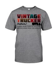 VINTAGE TRUCKER Classic T-Shirt tile