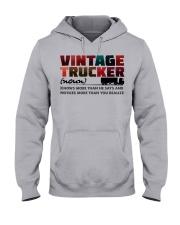 VINTAGE TRUCKER Hooded Sweatshirt front