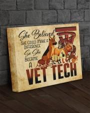 VET TECH - Premium 14x11 Gallery Wrapped Canvas Prints aos-canvas-pgw-14x11-lifestyle-front-11
