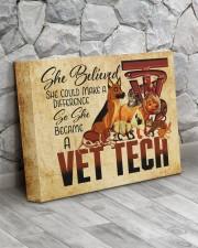 VET TECH - Premium 14x11 Gallery Wrapped Canvas Prints aos-canvas-pgw-14x11-lifestyle-front-13