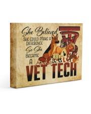VET TECH - Premium 14x11 Gallery Wrapped Canvas Prints front