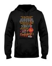 FIREFIGHTER'S WIFE  Hooded Sweatshirt front