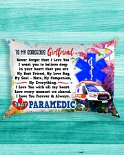 GIFT FOR A PARAMEDIC GIRLFRIEND - PREMIUM Rectangular Pillowcase aos-pillow-rectangle-front-lifestyle-5