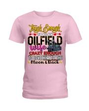 Oilfield Man's Wife Ladies T-Shirt tile