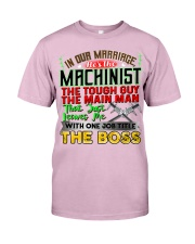 Machinist's  Wife Classic T-Shirt tile