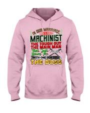 Machinist's  Wife Hooded Sweatshirt front