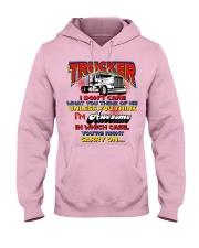 Lady Trucker Hooded Sweatshirt front