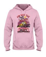 Lady HEO Hooded Sweatshirt front