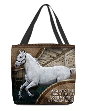 HORSE GIRL All-over Tote back