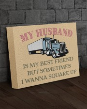Trucker- Premium 14x11 Gallery Wrapped Canvas Prints aos-canvas-pgw-14x11-lifestyle-front-11