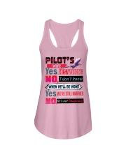 Pilot's Wife Ladies Flowy Tank tile