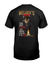 WELDER'S WIFE - I'M THE WOLF   Classic T-Shirt thumbnail