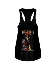 WELDER'S WIFE - I'M THE WOLF   Ladies Flowy Tank thumbnail