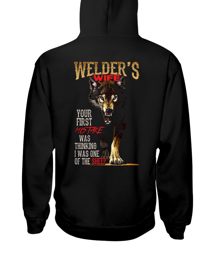 WELDER'S WIFE - I'M THE WOLF   Hooded Sweatshirt