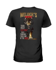 WELDER'S WIFE - I'M THE WOLF   Ladies T-Shirt thumbnail