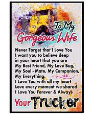 TRUCKER'S WIFE - PREMIUM 11x17 Poster front