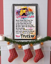 TRUCKER'S WIFE - PREMIUM 11x17 Poster lifestyle-holiday-poster-4