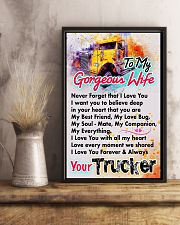 TRUCKER'S WIFE - PREMIUM 11x17 Poster lifestyle-poster-3