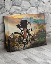 Mountain Biking - Premium 14x11 Gallery Wrapped Canvas Prints aos-canvas-pgw-14x11-lifestyle-front-13