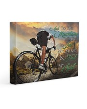Mountain Biking - Premium 14x11 Gallery Wrapped Canvas Prints front