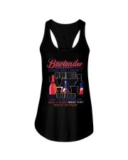 Bartender Ladies Flowy Tank thumbnail