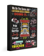 Trucker - Premium 11x14 Gallery Wrapped Canvas Prints front