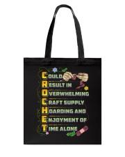 CROCHETING - Premium Tote Bag front