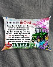GIFT FOR FARMER'S GIRLFRIEND- PREMIUM Rectangular Pillowcase aos-pillow-rectangle-front-lifestyle-1