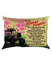 GIFT FOR A FARMER'S DAUGHTER - PREMIUM Rectangular Pillowcase back