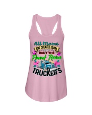 Trucker's Mom Ladies Flowy Tank tile