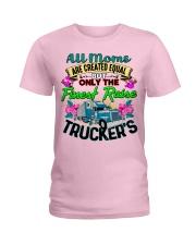Trucker's Mom Ladies T-Shirt tile