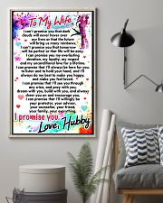 GIFT FOR WIFE - PREMIUM 11x17 Poster lifestyle-poster-1