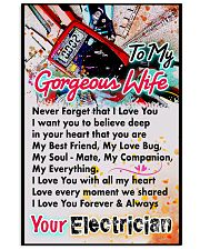 ELECTRICIAN'S WIFE-PREMIUM 11x17 Poster front