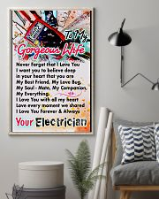 ELECTRICIAN'S WIFE-PREMIUM 11x17 Poster lifestyle-poster-1