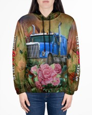 Lady Trucker Women's All Over Print Hoodie aos-complex-women-hoodie-lifestyle-front-01