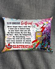 GIFT FOR AN ELECTRICIAN'S GIRLFRIEND - PREMIUM Rectangular Pillowcase aos-pillow-rectangle-front-lifestyle-1
