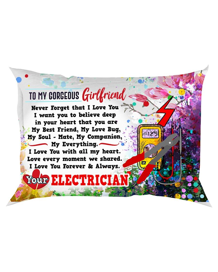 GIFT FOR AN ELECTRICIAN'S GIRLFRIEND - PREMIUM Rectangular Pillowcase
