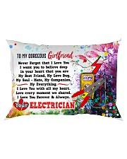 GIFT FOR AN ELECTRICIAN'S GIRLFRIEND - PREMIUM Rectangular Pillowcase front